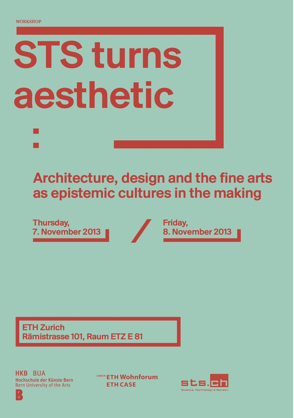 STS turns aesthetic Workshop -