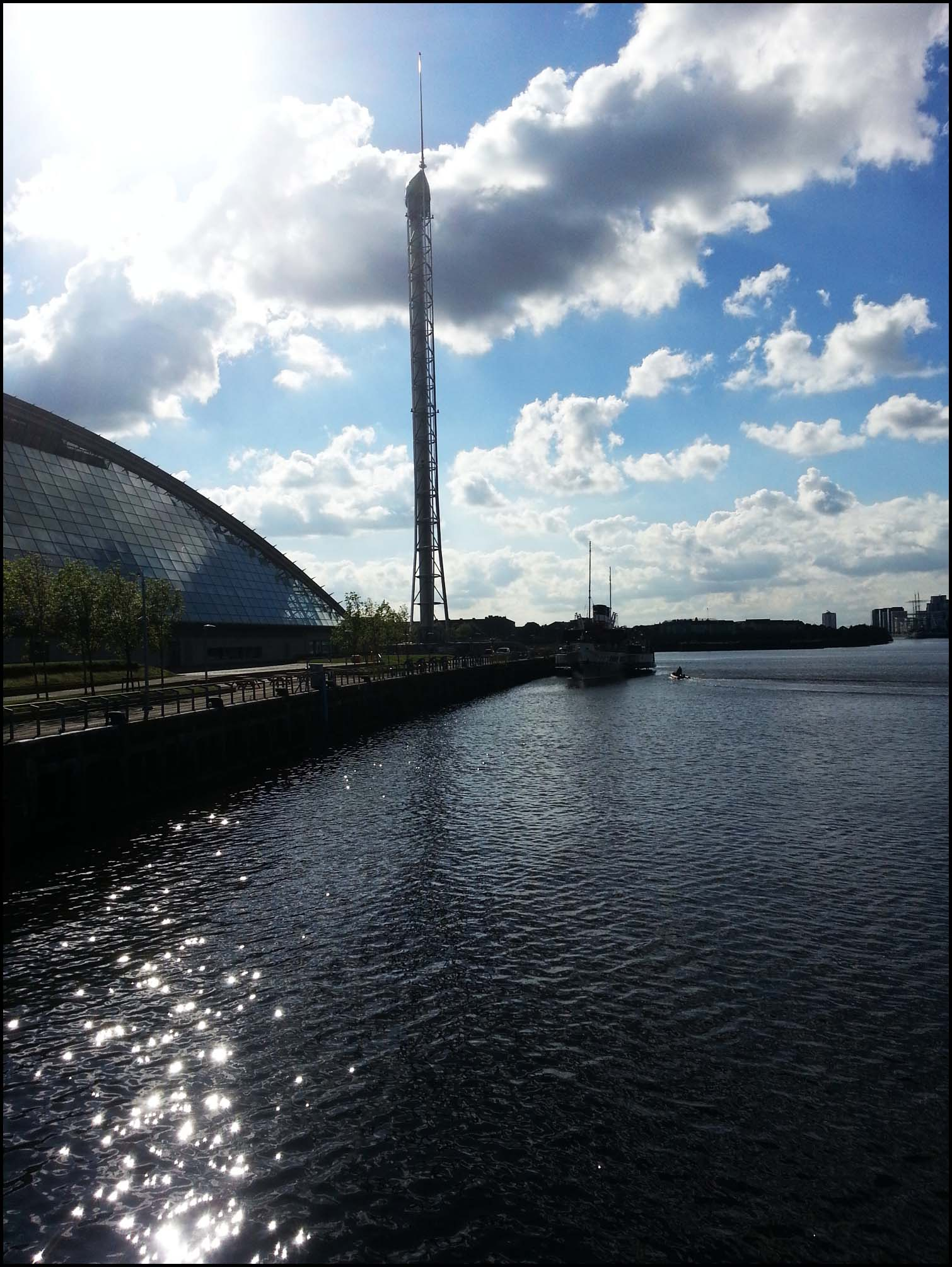 The Sun on the Clyde, Glasgow