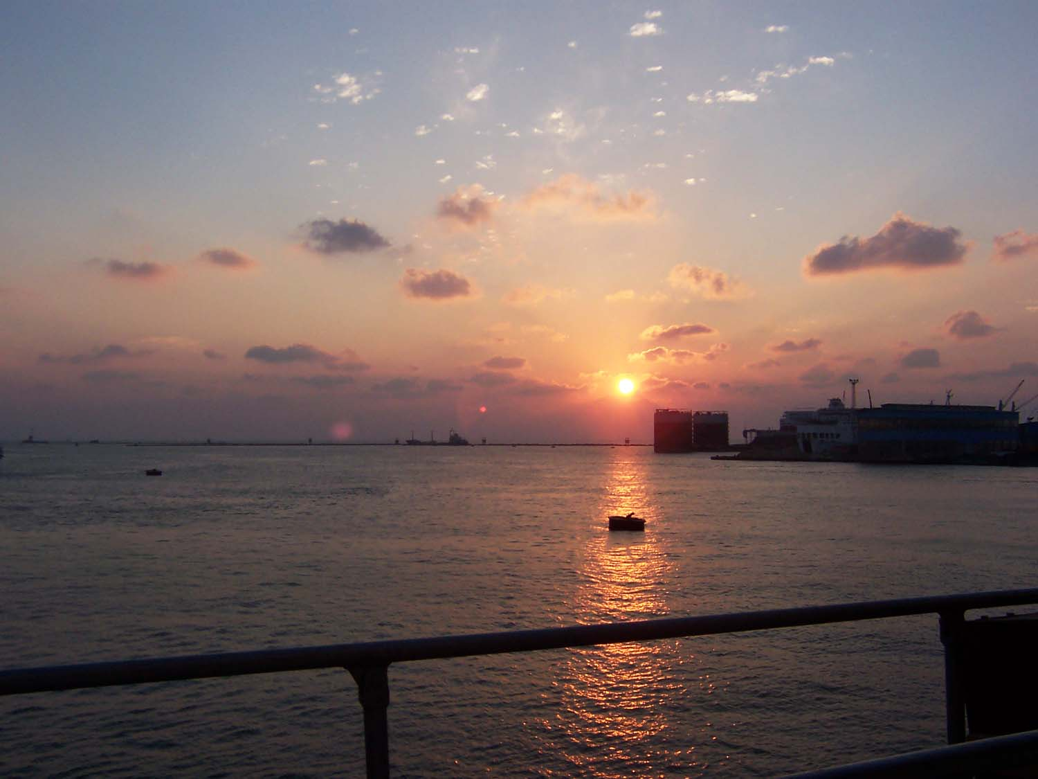 Impression, Sunrise - Port Said