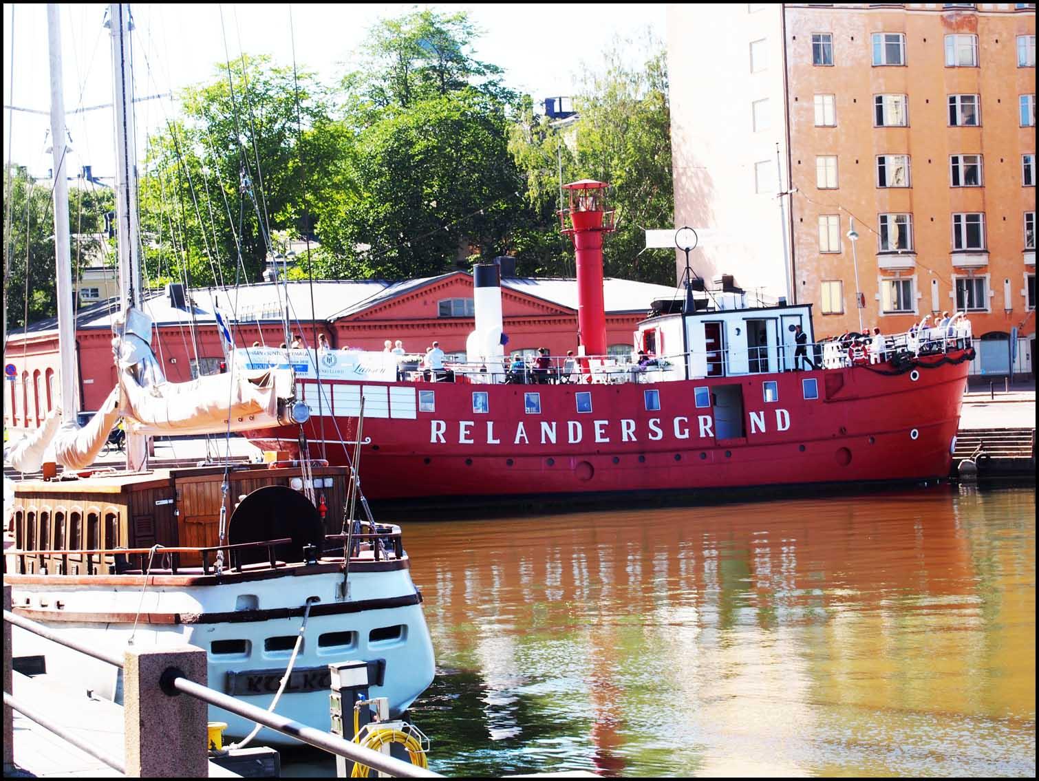 Relandersgrund Pub Boat, Helsinki Harbour