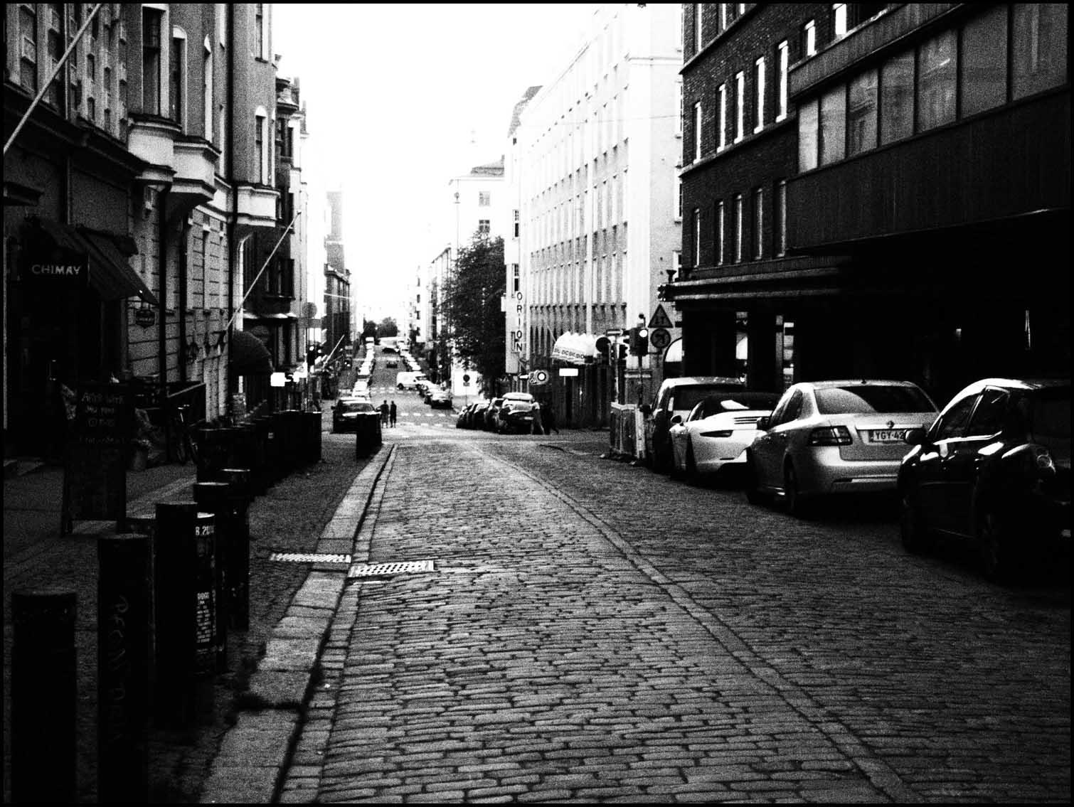 Street Scene, Central Helsinki