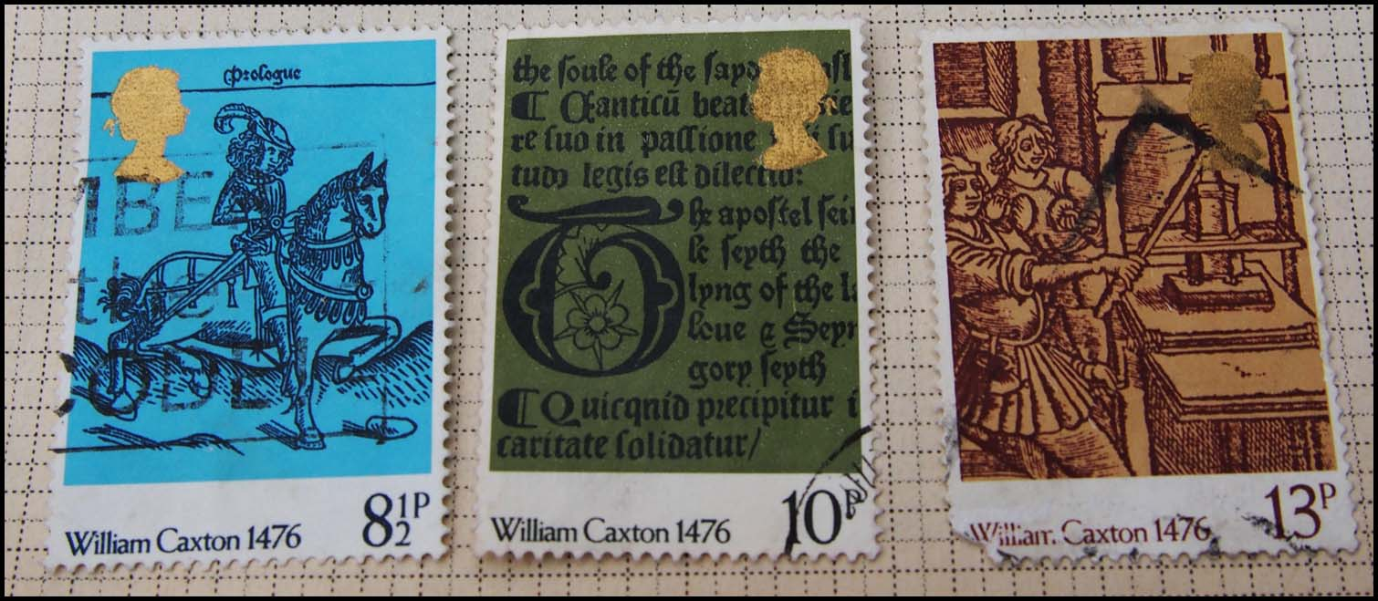 William Caxton Special Edition Stamps