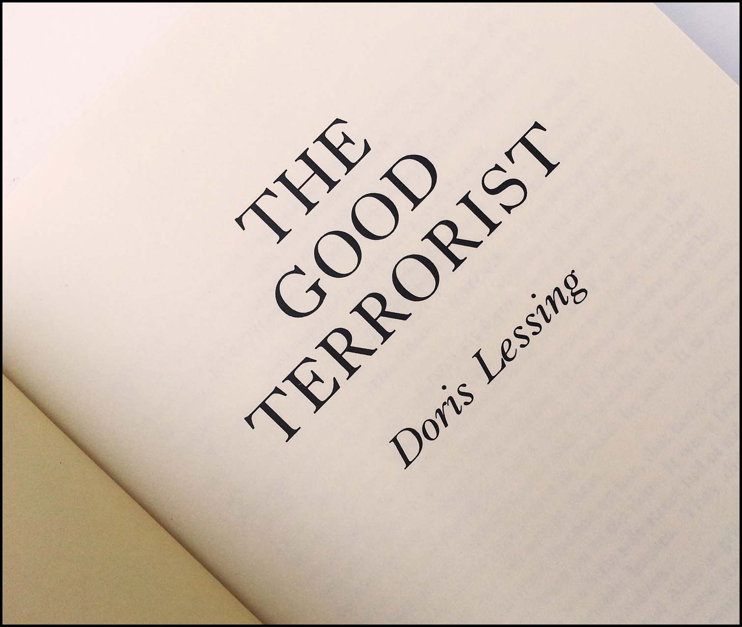 Doris Lessing - The Good Terrorist