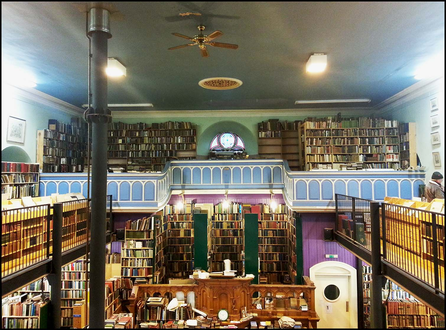 Leakey's Bookshop Inverness