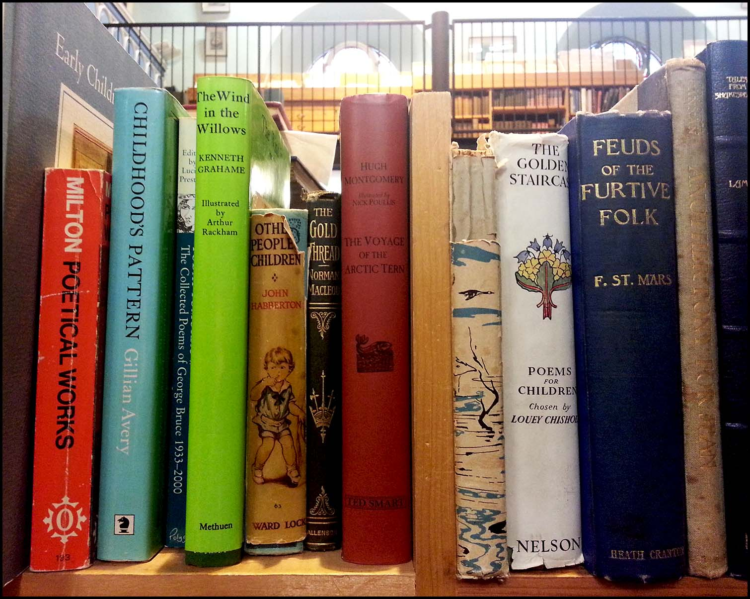 Second hand books in Leakey's bookshop, Inverness