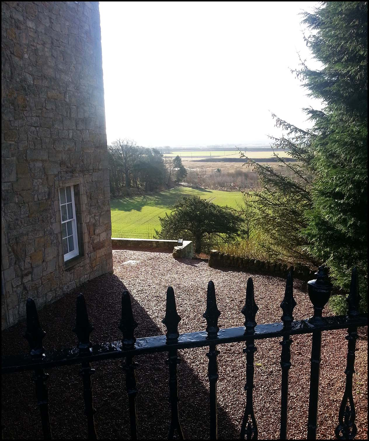 Airth Castle Spa Hotel View