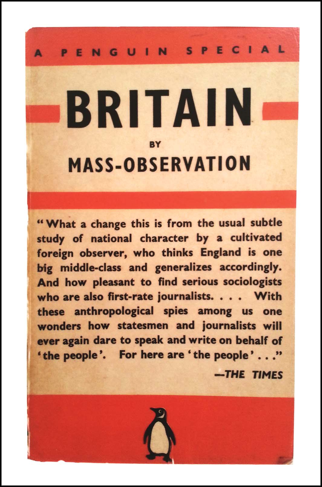 Mass Observation Archive Poster