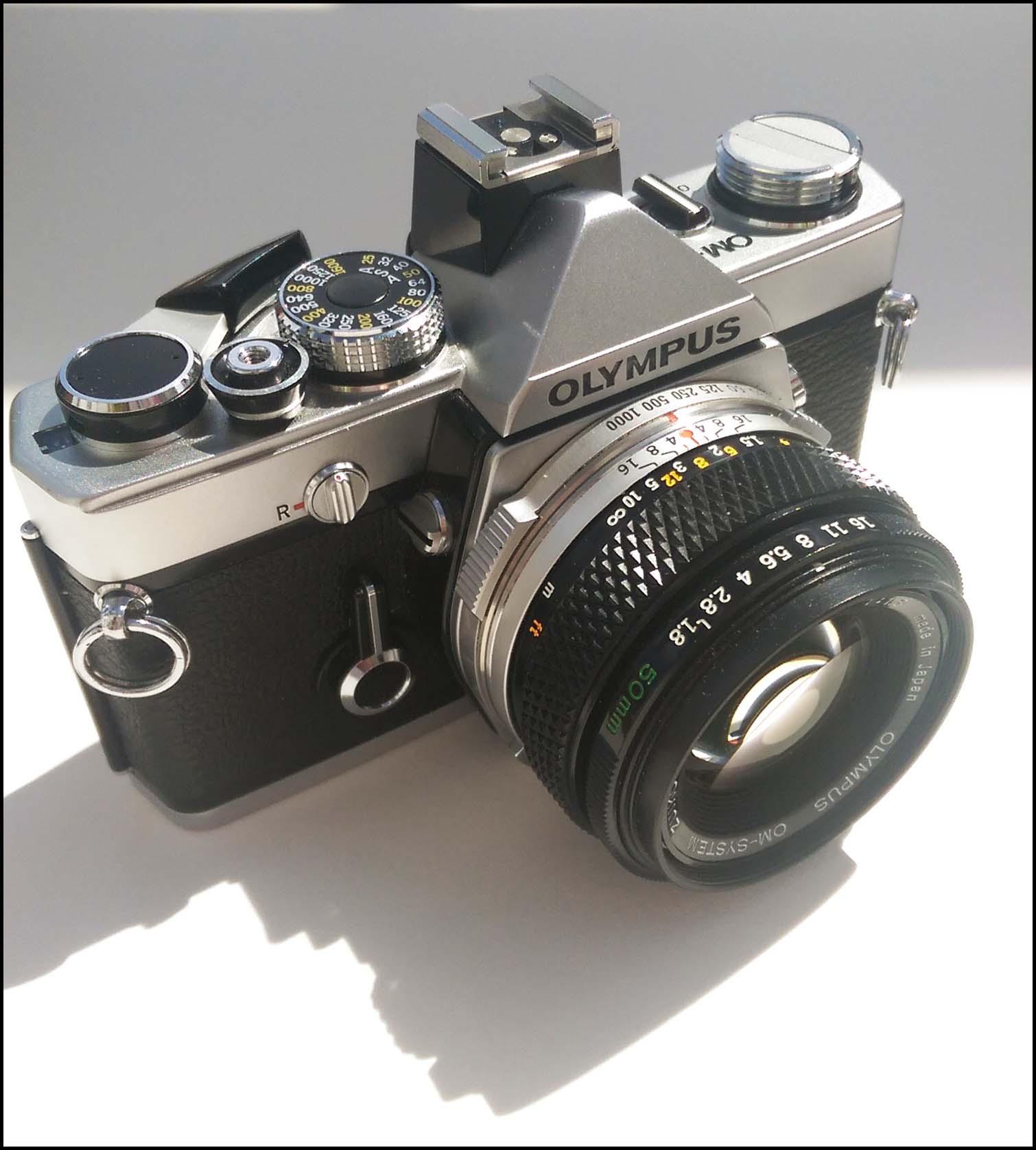 Olympus OM 1 vintage camera