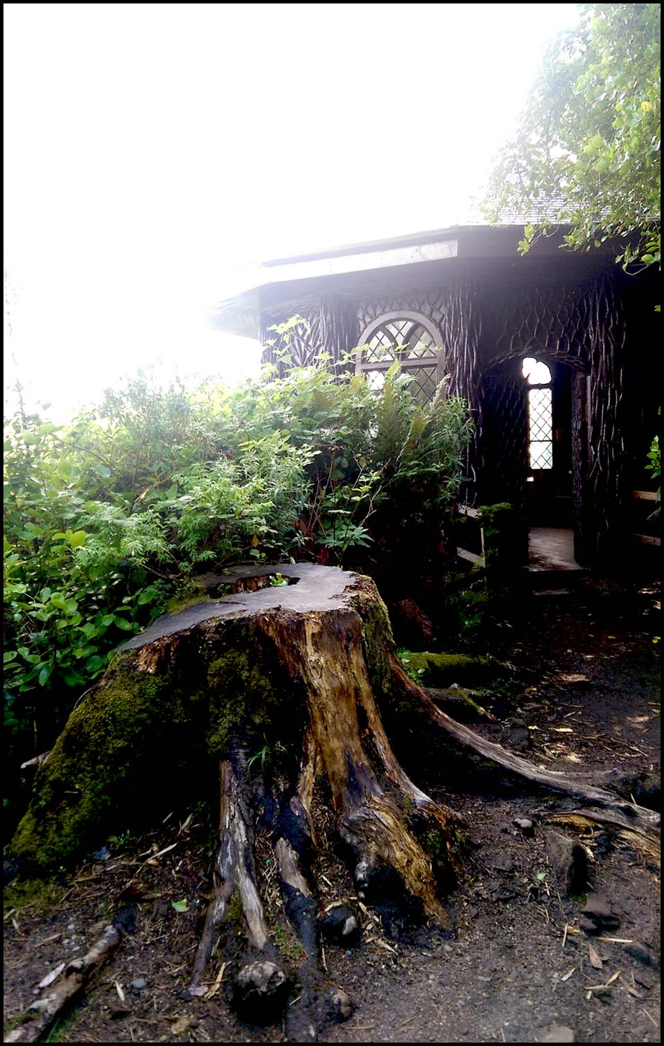 Bavarian Summerhouse, Brodick Castle, Arran