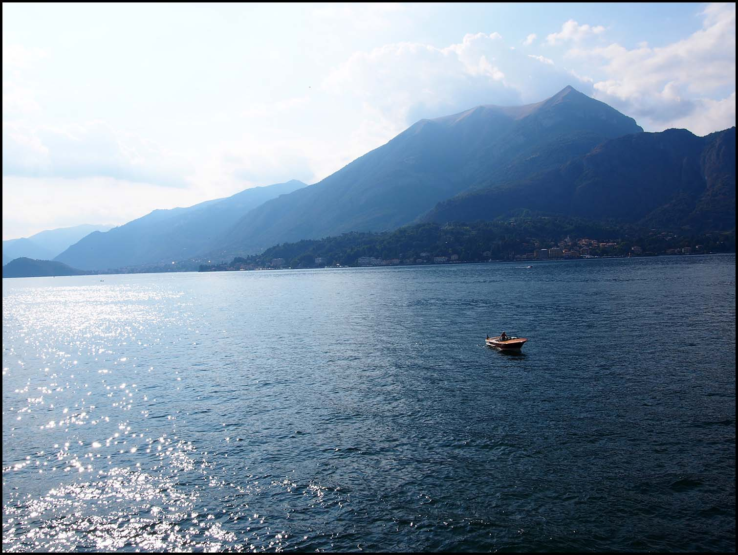 Misty Mountains at Lake Como