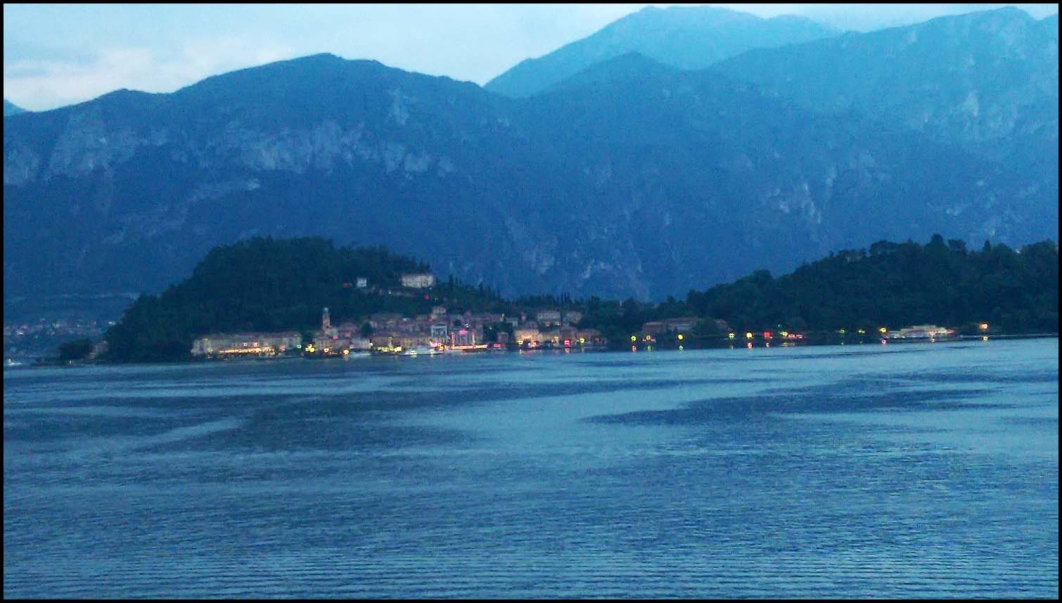 View of the lake from Cadenabbia, Lake Como