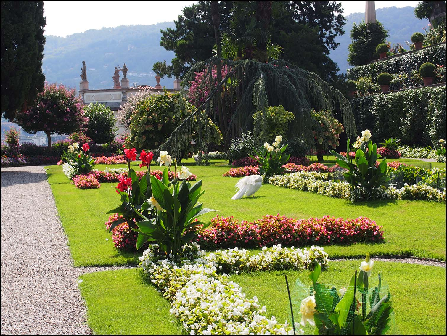 Garden at Isola Bella
