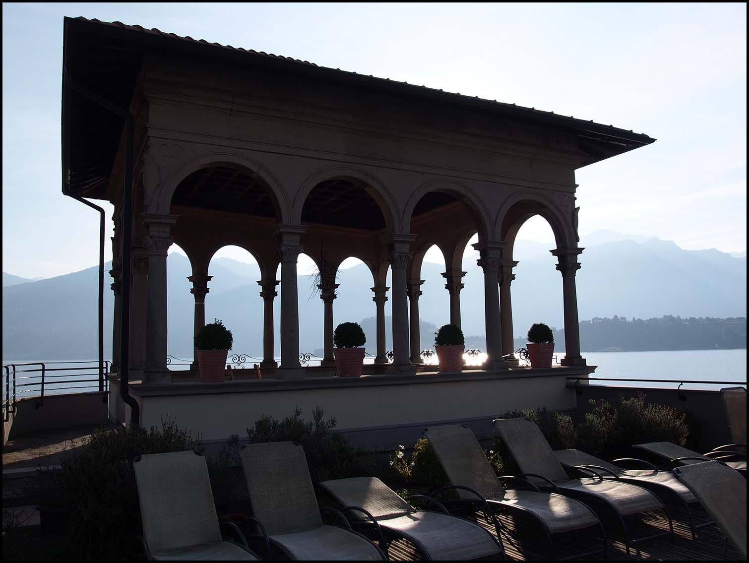 Grand Hotel Cadenabbia, sun terrace