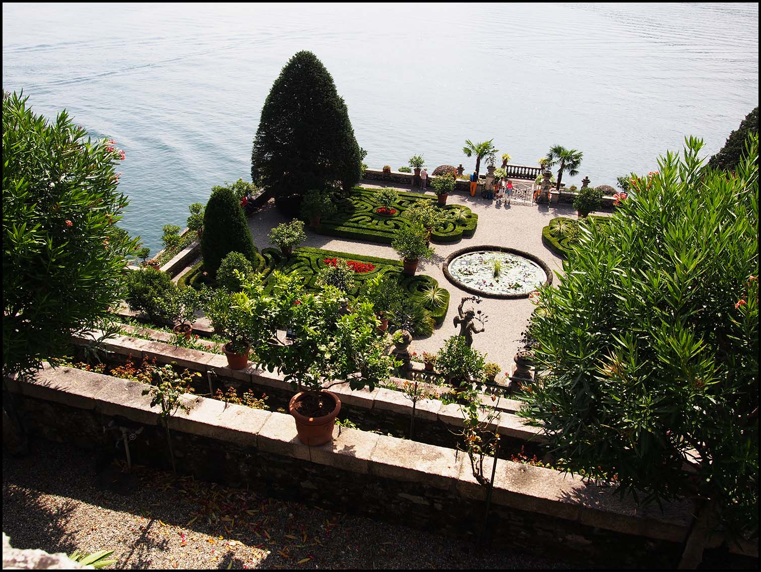 Mazed Gardens, Isola Bella, Italy