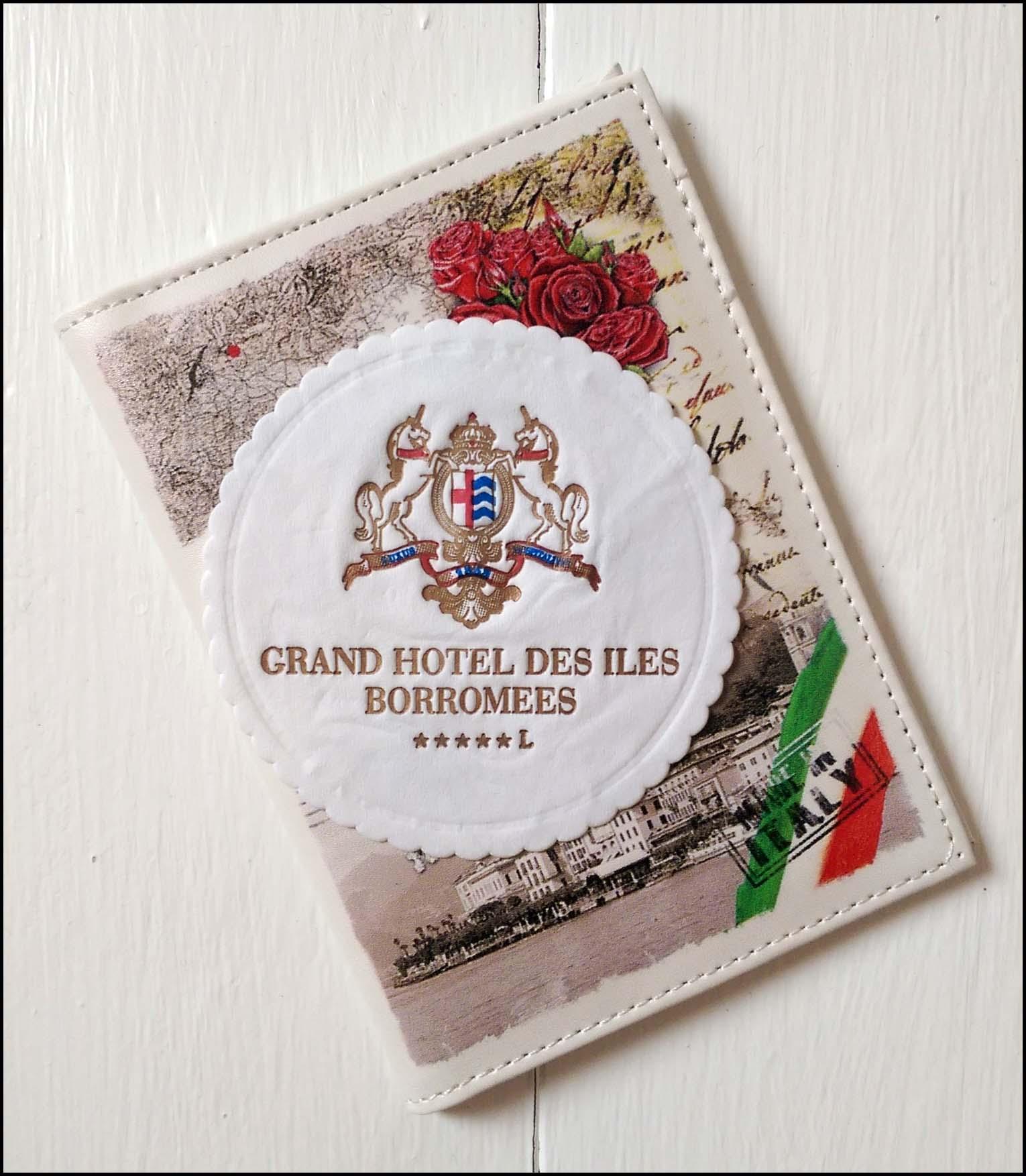 Souvenir, Grand Hôtel des Îles Borromées, Stresa, Italy