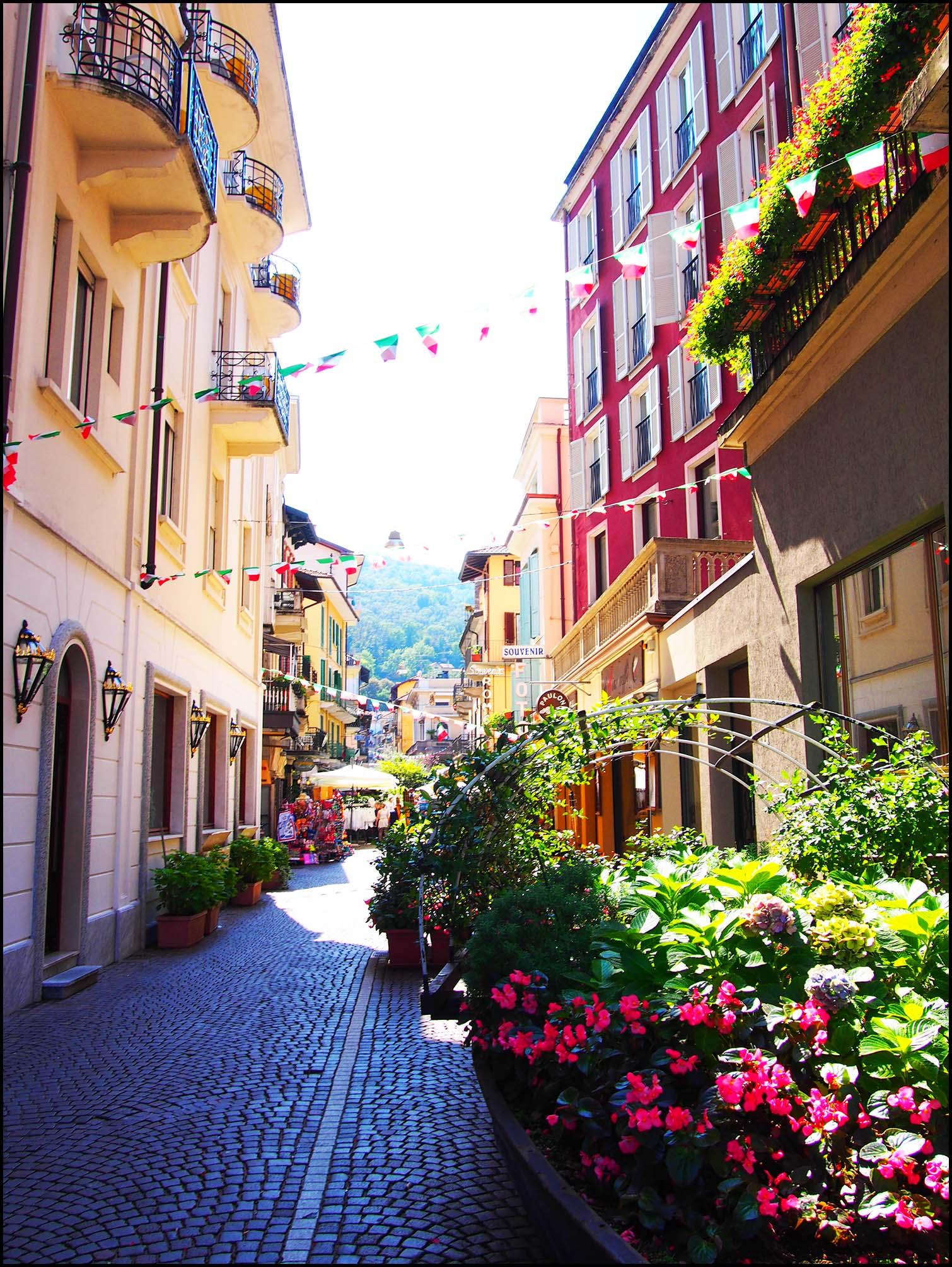 Street scene, Stresa, Italy