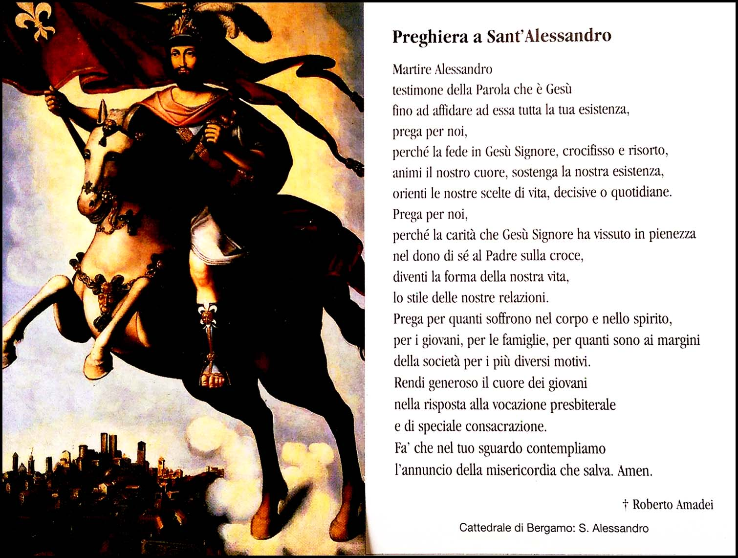 All Saints Day - An Italian Prayer
