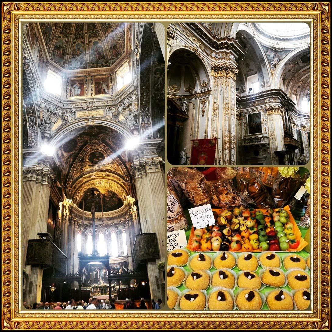 Inside the Cattedrale di Bergamo, Italy