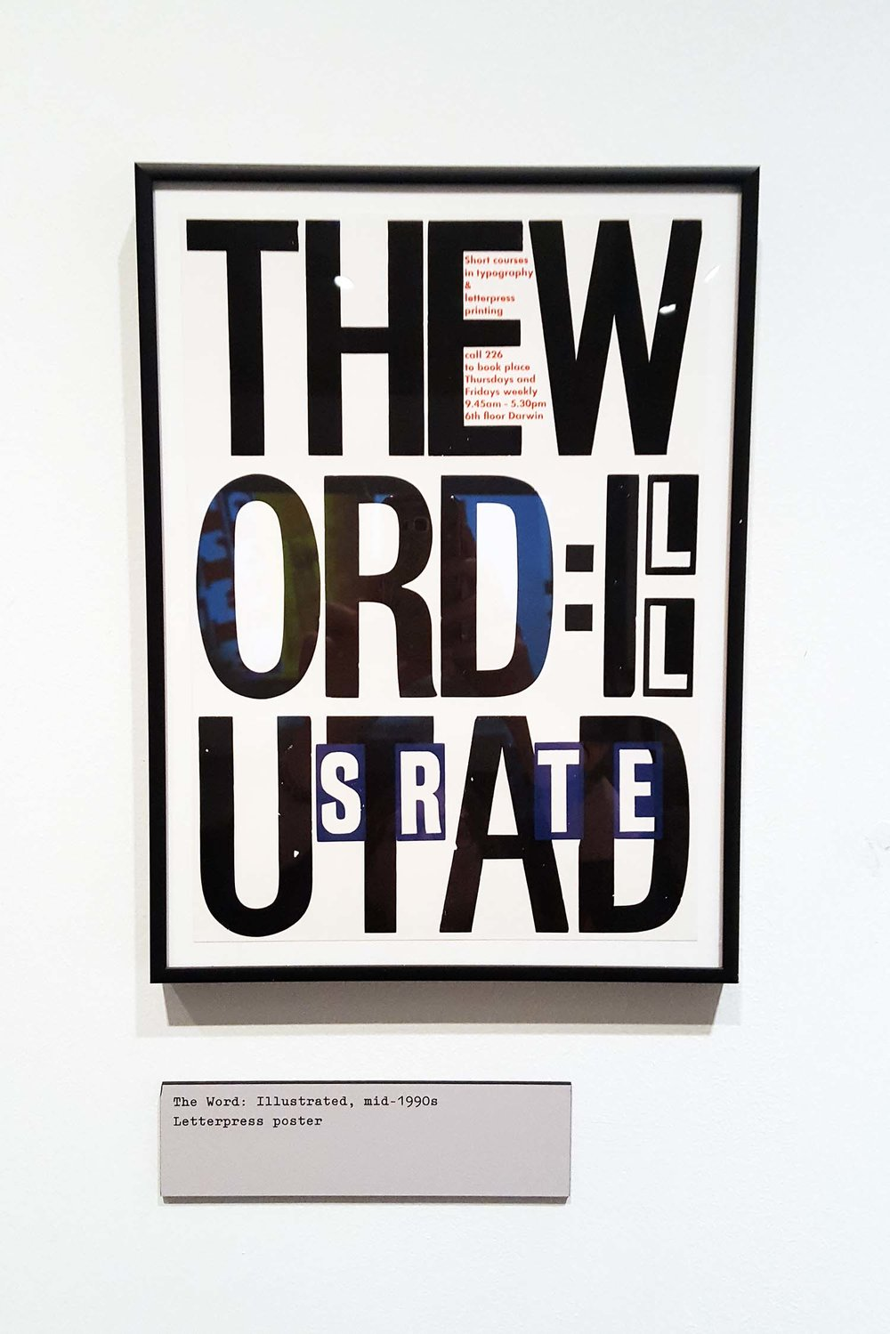 Letterpress, Alan Kitching exhibition