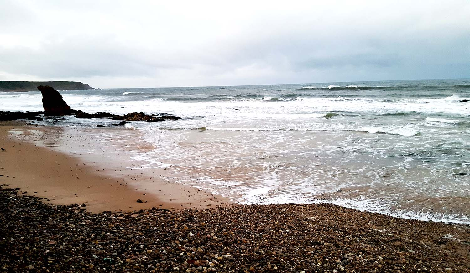 Taking Stock: Cullen Bay Beach, Scotland