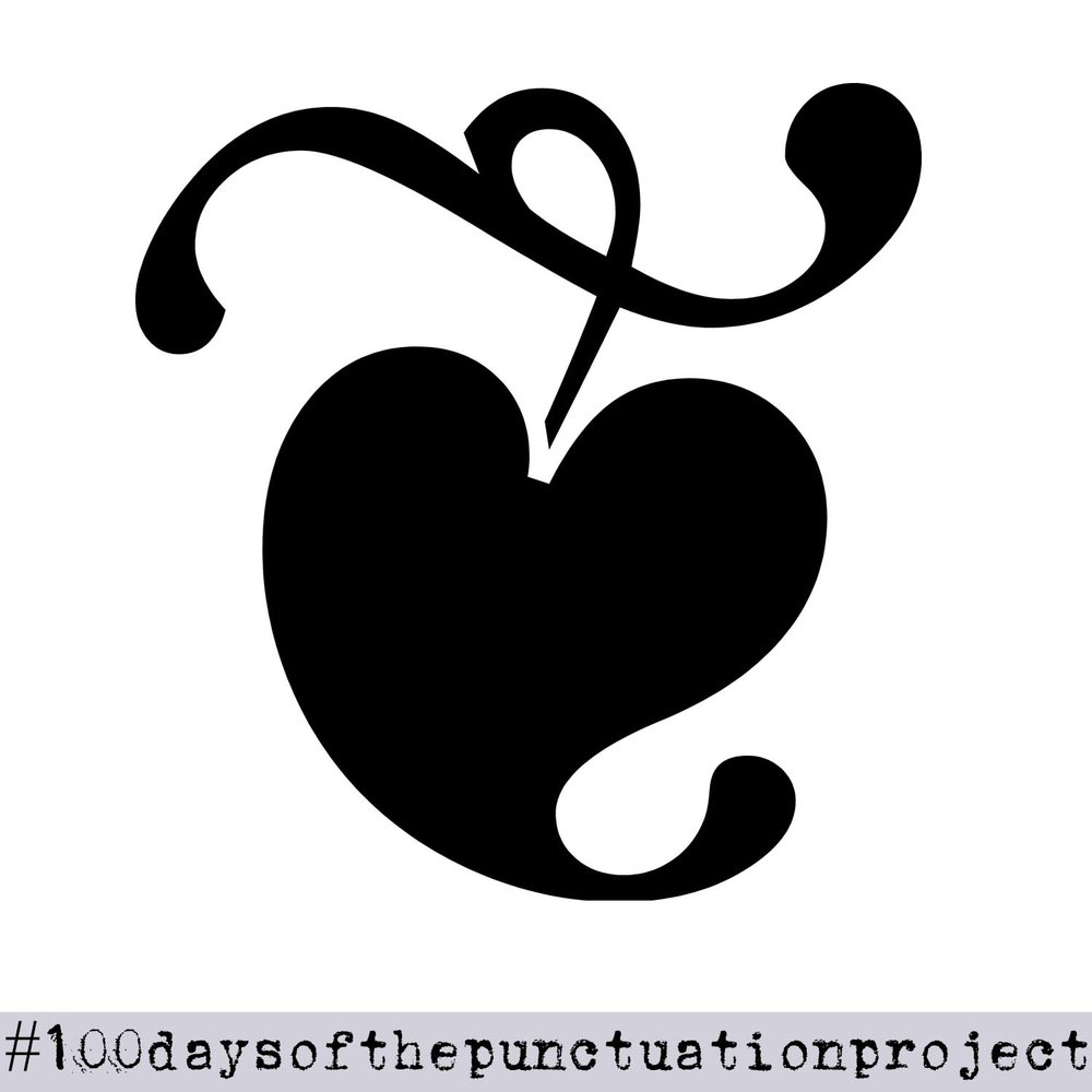 The Hedera: Day 40 of The Punctuation Project