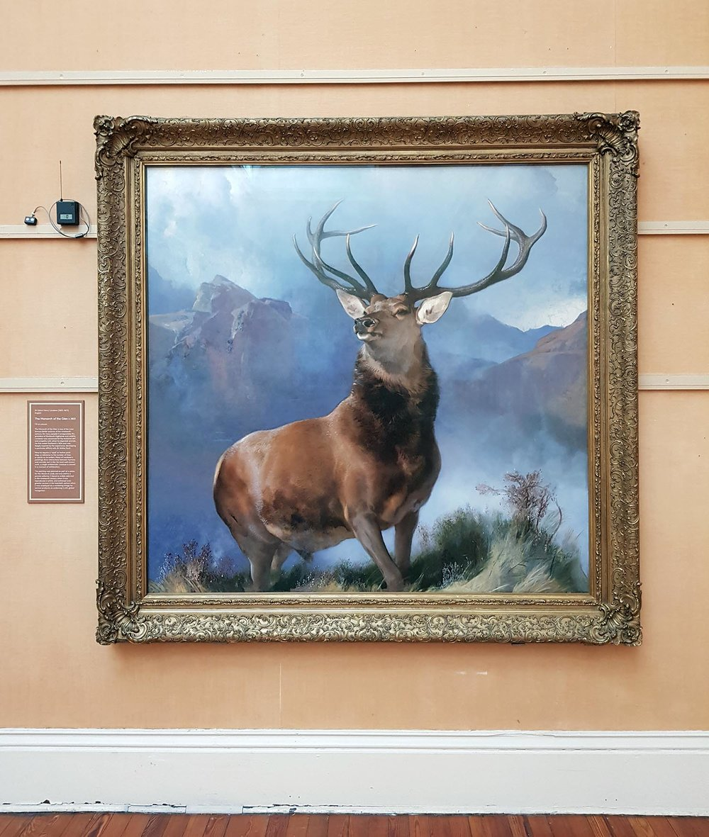 Monarch of the Glen, Paisley Museum