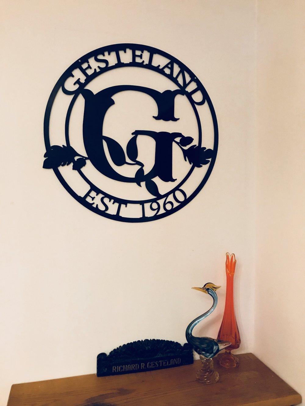 Gesteland Home Monogram