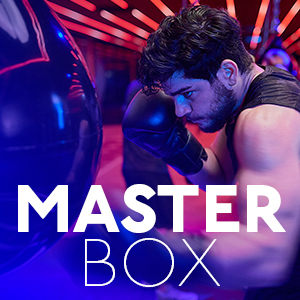 MASTERBOXSwitch at 8 minutes intervals between treadmill intervals & pad work in the Masterclass studio. -