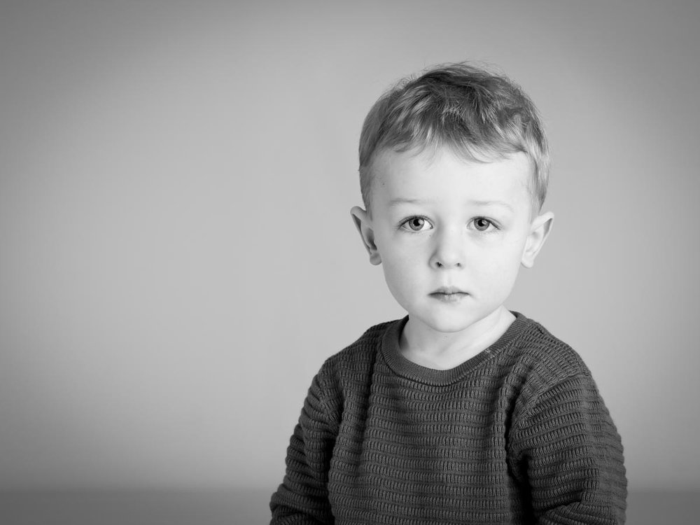 Little boy's portrait