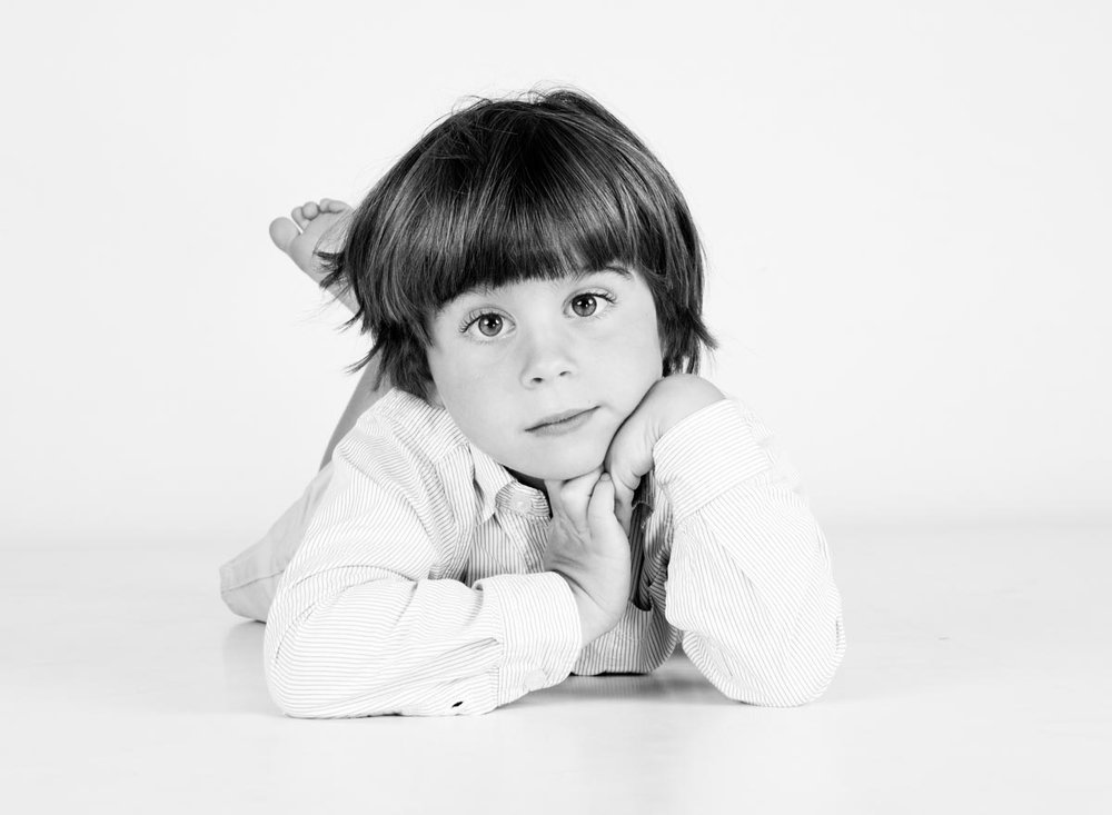 Portrait photography of 4 year old