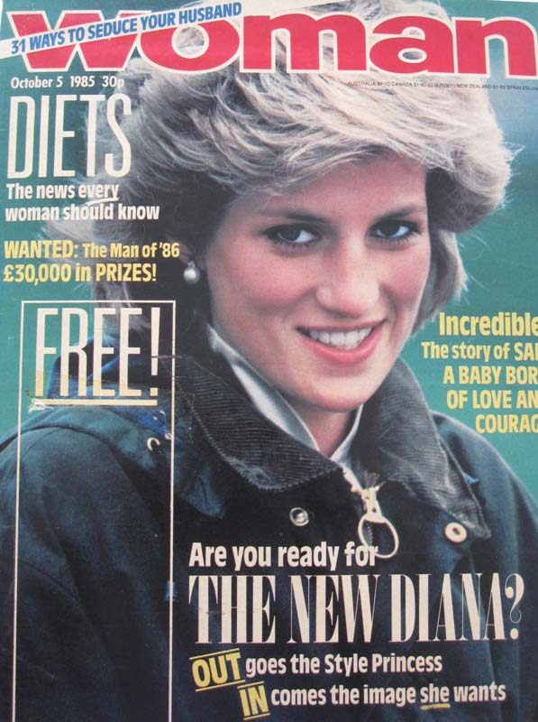 Woman magazine portrait of Diana