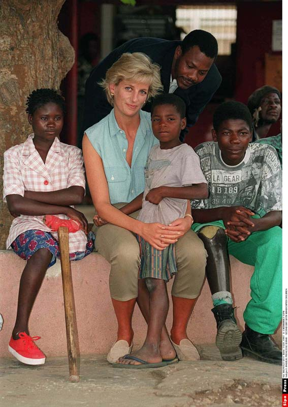 Diana portraiture with children