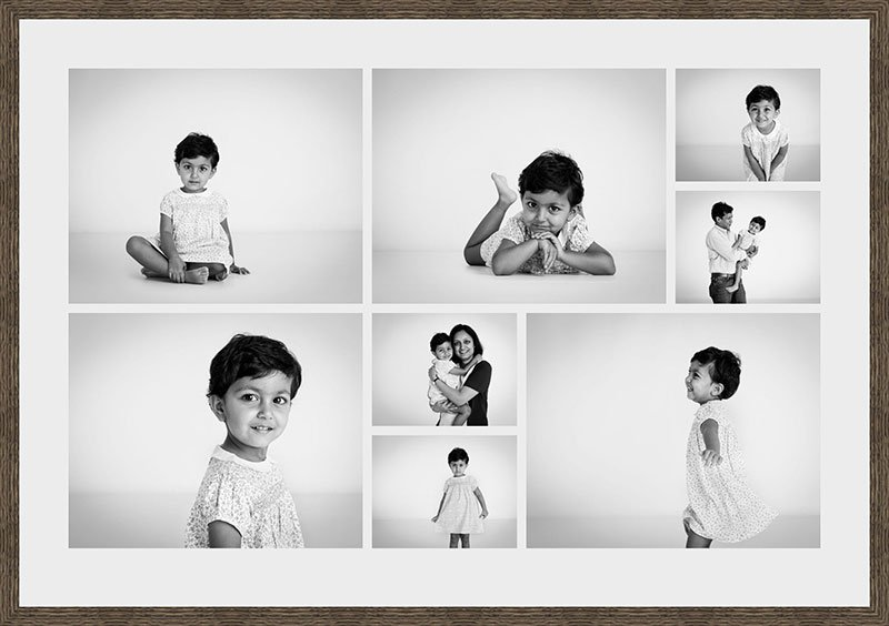 Floating-Contact-Sheet, child portraiture Nousha Photography