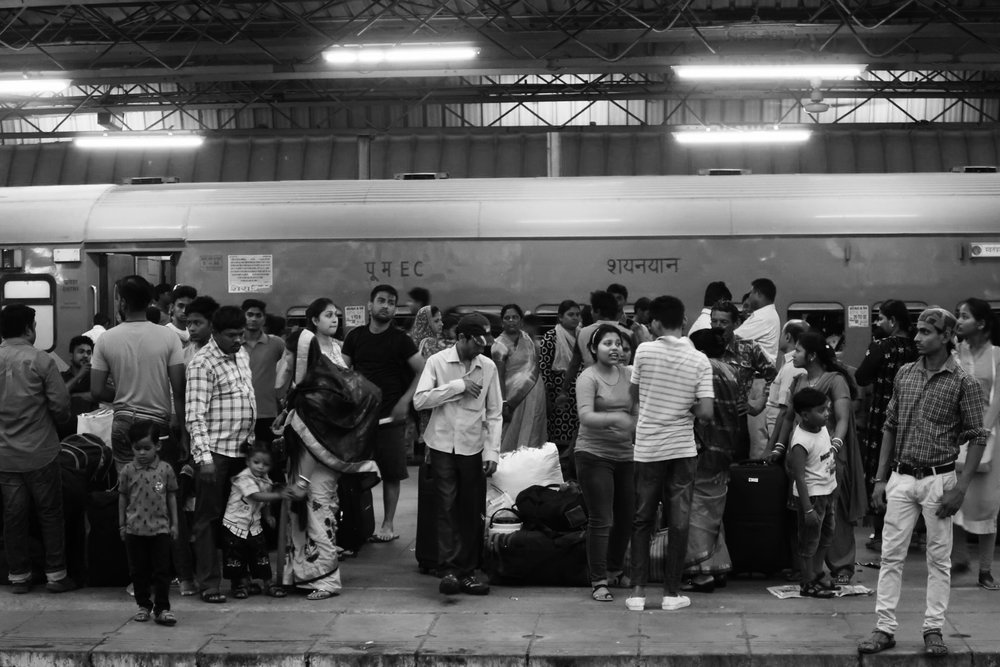 Delhi central station, I could have spent a week there taking pictures!
