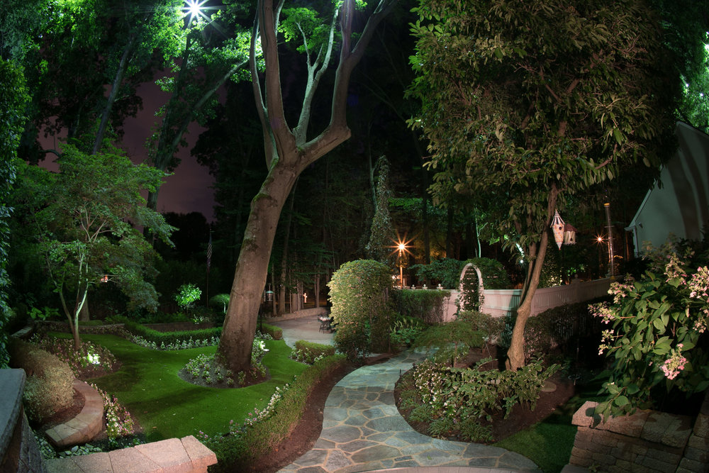 Improved security with outdoor lighting design in New Jersey, NJ