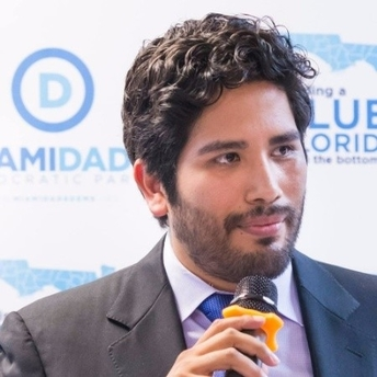 Juan Cuba  - @JuanCubaDWP Co-hostMiami-Dade Democratic Party ChairFormer Obama White House StaffLocal Government AficionadoAmateur Comedian