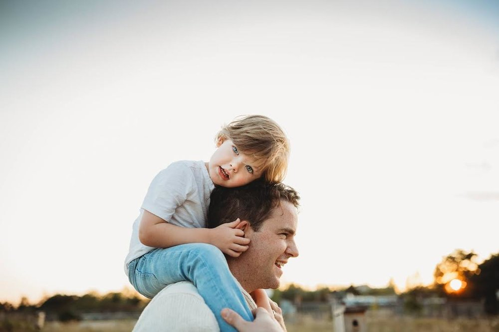 Dads are most ordinary men turned by love into heroes, adventurers, storytellers and lifelong friends.