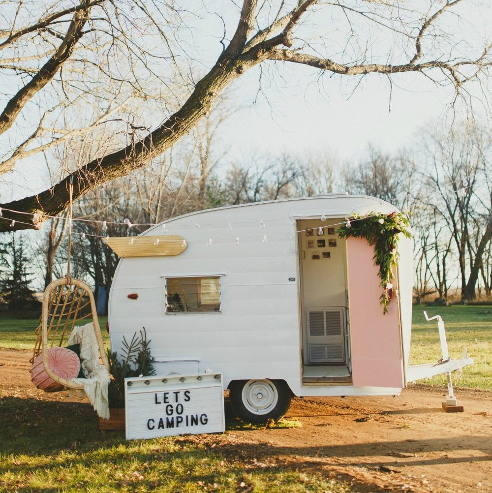 The Vintage Camper Millie — THE WHITE HOUSE CO
