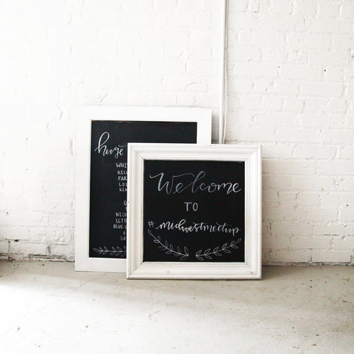 CHALKBOARDS/FRAMES — THE WHITE HOUSE CO.
