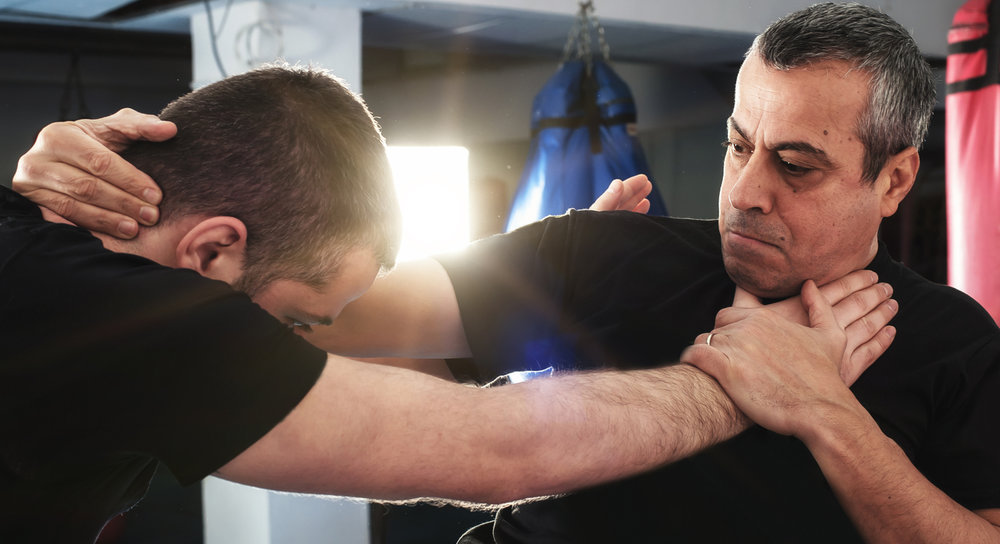 Choke Defenses - Chokes are personal and life threatening attacks. This program teaches officers how to defend against chokes from the front, rear, and sides in order to stay in the fight. After effectively defending against a choke, officers can transition to hand-to-hand combatives in order to effect and arrest.