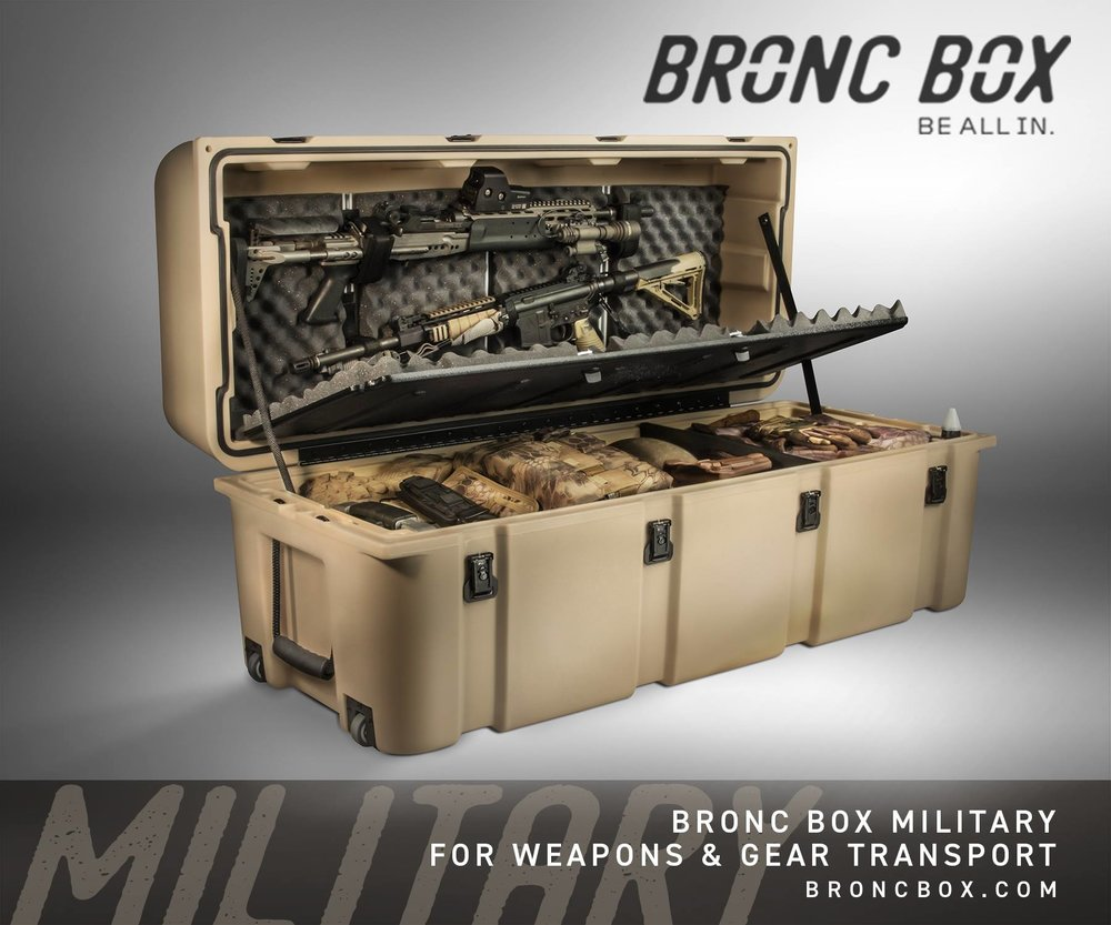 BRONC BOX MSRP $995.00 - SpecificationsOUTER DIMENSIONS: 20.67