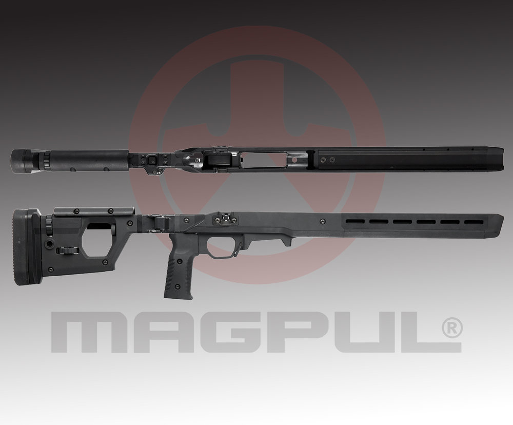 "MagPul 700 PRO MSRP $995.99 - SpecificationsWeight -  5.4 lbsHeight at Butt Plate – 5.2""Max width – 1.86""Length – 32.7"" – 34.6"" (23.5"" when folded)More INFO"