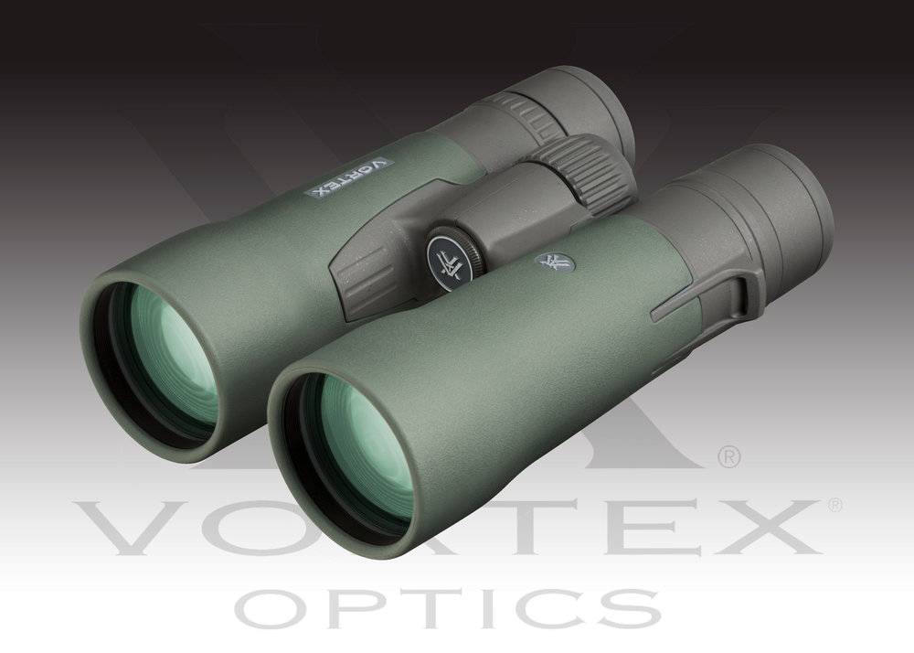 Vortex Optics Razor HD 10x50 Binocular  MSRP: $1489.99 - Vortex Optics Razor HD 10x50 BinocularMagnification: 10 xObjective Lens Diameter: 50 mmEye Relief: 16.5 mmExit Pupil:  5 mmLinear Field of View: 315ft/1000 ydsAngular Field of View: 6ºClose Focus: 10 ftInterpupillary Distance: 57-74 mmHeight: 6.8in Width: 5.1 inWeight: 28.1 ozMore INFO