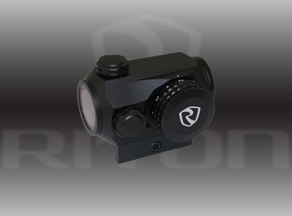 Riton Optics RT-R MOD 3 RMD (RITON MICRO DOT)                MSRP: $285.00 - • Waterproof, Fogproof & Shockproof• Magnification: 1X• Objective Diameter: 23mm• Click Value: 1 MOA• Dot Size: 2 MOA Red Dot• Illumination: Red (6 Levels of Brightness with on/off in-between each)• Weight: 112grams• Length: 62mm• Mounts: 3 Separate HeightsMore INFO