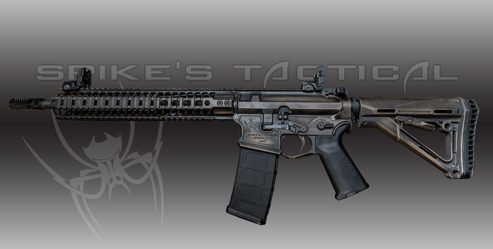 Spikes Tactical ULTIMATE ASSASSIN MSRP: $2430.00 - • Custom cerakote paint job ($250.00)• 14.5