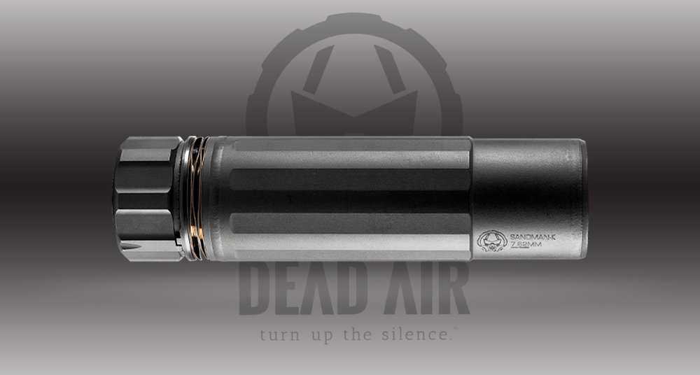 Dead Air Silencers Sandman K            MSRP: $699.00  - • Rating:Multi - Up to .300 Win Mag• Length:5.4