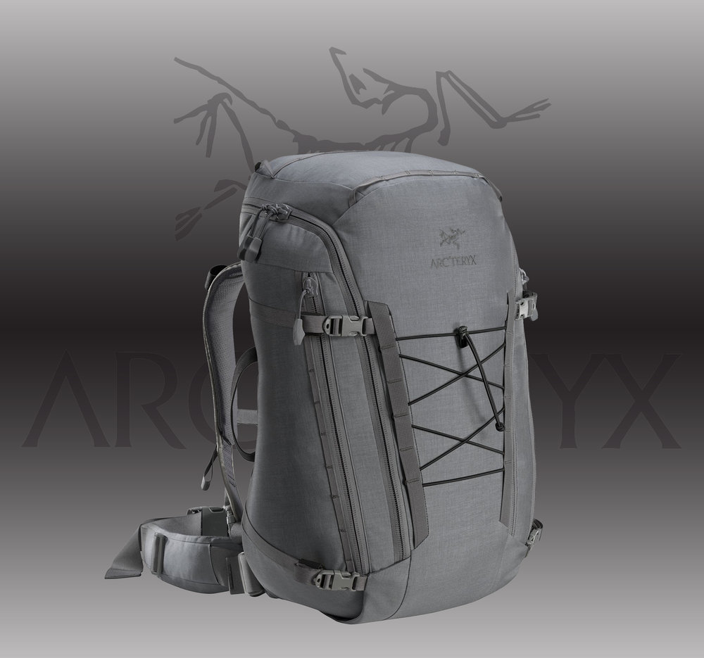 Arc'Teryx LEAF Assault Pack 45    MSRP: $499.00  - • Wolf Grey• One Size:  1.895 kg / 67 oz / 45 L• INVISTA 500d HT Cordura® Plain WeaveMore INFO