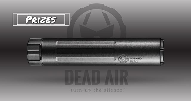 @deadairsilencers will be at Shoot it Live. These guys are donating 2 suppressors!  1) Sandman-K MSRP: $699.00  2) Mask MSRP: $ 449.00