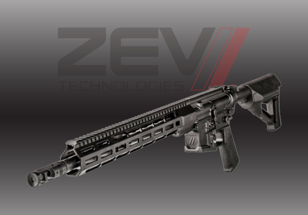 ZEV AR15 BILLET RIFLE, 5.56 NATO, 16