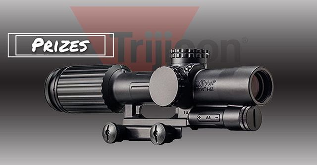 Lets make your Monday a little better. @trijicon will be at Shoot it Live and they are giving away a Trijicon VCOG! MSRP: $2800.00 More info: www.shootitliveutah.com